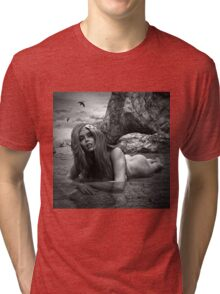 Sultry Sally BW2 Tri-blend T-Shirt