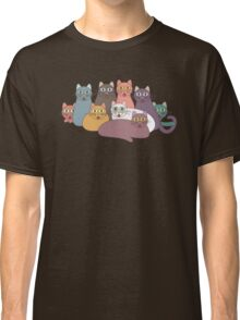 NINE CATS WITH NINE LIVES = ? Classic T-Shirt