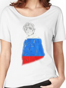 Russia and His Flag Women's Relaxed Fit T-Shirt