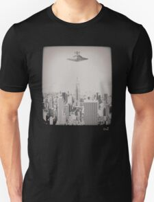 Star invasion on New York T-Shirt