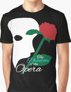 The Phantom and Rose Graphic T-Shirt