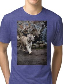 White tiger Tri-blend T-Shirt