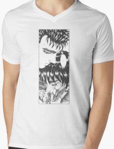 Guts and Caska Berserk Mens V-Neck T-Shirt