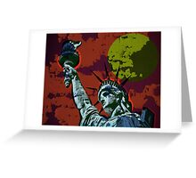 STATUE OF LIBERTY-33 Greeting Card