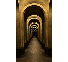 Arches of my city Photographic Print