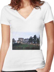Chateau Passavant Women's Fitted V-Neck T-Shirt