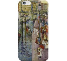 Maurice Brazil Prendergast , THE GRAND CANAL, VENICE iPhone Case/Skin