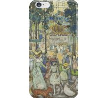 Maurice Brazil Prendergast  THE AMUSEMENT PARK iPhone Case/Skin