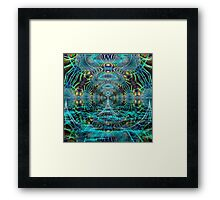 Welcome to the Matrix Framed Print