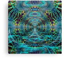 Welcome to the Matrix Canvas Print