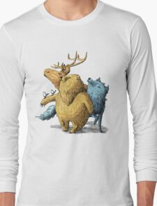 Five friends Long Sleeve T-Shirt