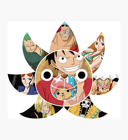Mugiwara ONE PIECE  Photographic Print