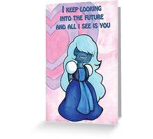 Sapphire Valetine - Future  Greeting Card