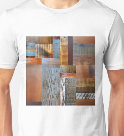 Reclaimed Wood Abstract 2.0 Unisex T-Shirt