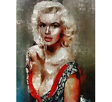 Jayne Mansfield by Mary Bassett Photographic Print