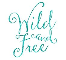 Wild and Free in Sea Breeze Photographic Print