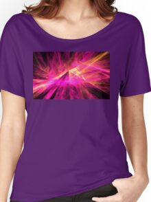 Pyramid Rays Women's Relaxed Fit T-Shirt