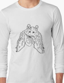 Meesa Jar Jar Binks.  Long Sleeve T-Shirt