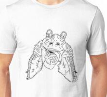 Meesa Jar Jar Binks.  Unisex T-Shirt