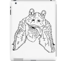 Meesa Jar Jar Binks.  iPad Case/Skin