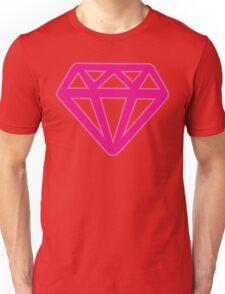 Pink Kitsch Diamond Unisex T-Shirt