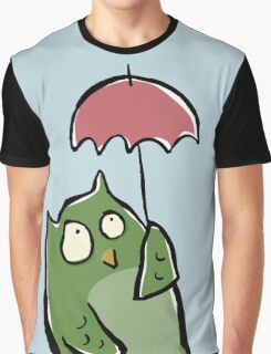 owl in the rain Graphic T-Shirt