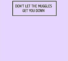 Don't Let the Muggles Get You Down by Artbytaylorj