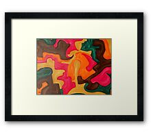 ABSTRACT 845 Framed Print