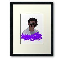 Cristina the Cardio Goddess Framed Print