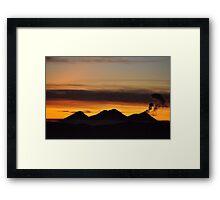 Up at Dawn Framed Print