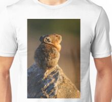 Sunset Pika Unisex T-Shirt