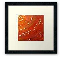 Gold in the Canyon Framed Print