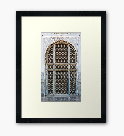 Marble Doorway Framed Print