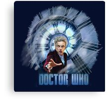 Capaldi - Doctor Who Canvas Print