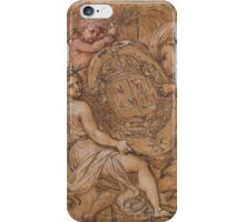 Michel Corneille, the Younger  The Coat of Arms of France and  iPhone Case/Skin