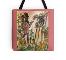 Artist in Style Tote Bag