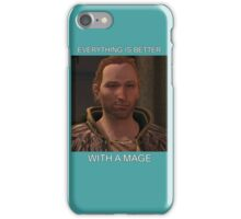 Everything is with a Mage  iPhone Case/Skin