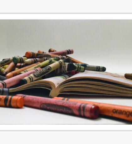 Crayons Sticker