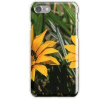 Yellow Flowers in a Garden iPhone Case/Skin