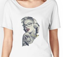 Swag Marilyn Monroe  Women's Relaxed Fit T-Shirt