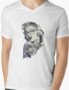 Swag Marilyn Monroe  Mens V-Neck T-Shirt