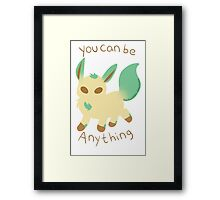 Anything leafeon Framed Print