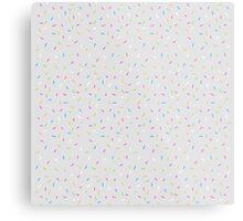 Sprinkles, Please (Light Grey) Metal Print