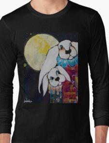 """Moon Rabbits"" Long Sleeve T-Shirt"