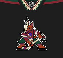 Arizona Coyotes Throwback Jersey by Russ Jericho