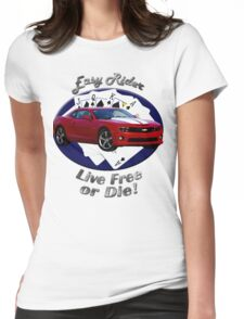 Chevy Camaro SS Easy Rider Womens Fitted T-Shirt