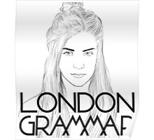 London Grammar Poster