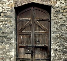 Kilmainham Gaol Door by TruDesigns