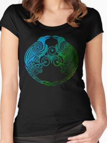 Celtic Crows Women's Fitted Scoop T-Shirt
