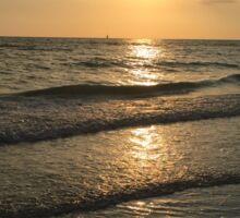 Marco Island Sunset  Sticker